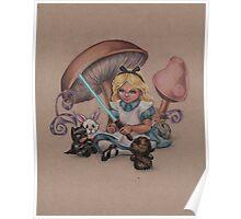 Alice in Fandomland (somewhere in Gaderen's Forest) Poster