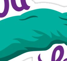 Green Rabbit's Foot Sticker