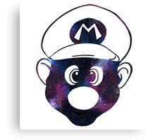 Galaxy Mario Canvas Print