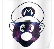 Galaxy Mario Poster