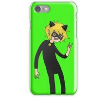 Cat Noir (Adventure Time version) iPhone Case/Skin