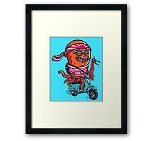 Octosushi Framed Print