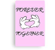 Forever Together no.2 Canvas Print