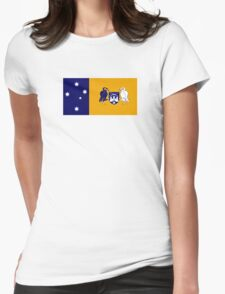 Flag of the Australian Capital Territory  Womens Fitted T-Shirt