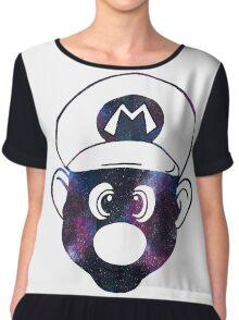 Galaxy Mario Chiffon Top