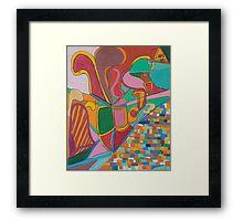 All that Jazz Framed Print