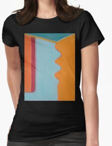 Inside the Door Womens Fitted T-Shirt