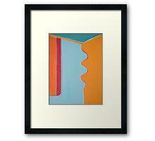 Inside the Door Framed Print