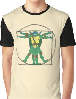 Virtuvian Turtle Graphic T-Shirt