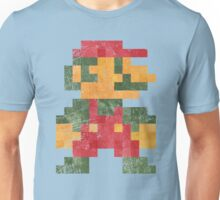 Mario Vintage Pixels Unisex T-Shirt