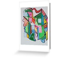 Images of Early Cubism Greeting Card