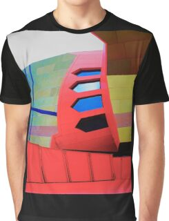 Futuristic Facade - National Museum of Australia Graphic T-Shirt
