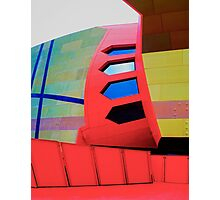 Futuristic Facade - National Museum of Australia Photographic Print