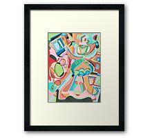 Adobe Friends Framed Print