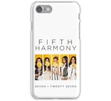 Fifth Harmony 7/27 (Flowers) iPhone Case/Skin