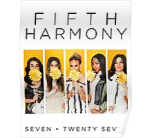 Fifth Harmony 7/27 (Flowers) Poster