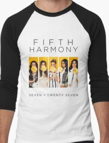 Fifth Harmony 7/27 (Flowers) Men's Baseball ¾ T-Shirt