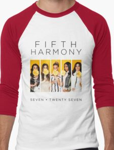 Fifth Harmony 7/27 (Flowers) Men's Baseball ¾ T-Shirt