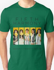 Fifth Harmony 7/27 (Flowers) Unisex T-Shirt