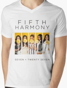 Fifth Harmony 7/27 (Flowers) Mens V-Neck T-Shirt