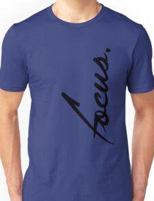 Focus - version 1 - black Unisex T-Shirt
