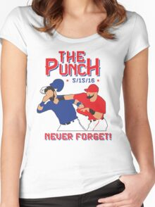 The Punch  Women's Fitted Scoop T-Shirt