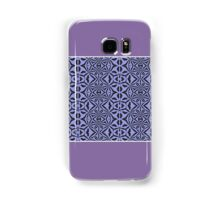 Unique Purple and Black (Abstract) Samsung Galaxy Case/Skin