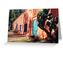 Colors Of The Desert Southwest Greeting Card