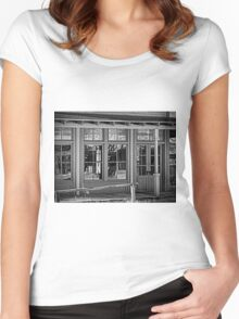 Reflections of a Time Past Women's Fitted Scoop T-Shirt
