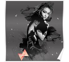 Gigi Hadid Digital Manipulation Poster