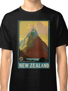 Vintage poster - New Zealand Classic T-Shirt