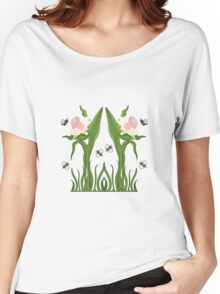 Buzzed Daffodils Women's Relaxed Fit T-Shirt
