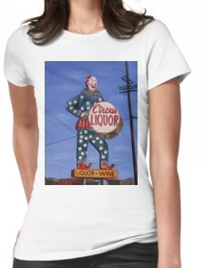 The famed Circus Liquor in Noho! Womens Fitted T-Shirt