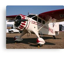 Stinson High Wing Aircraft  Canvas Print