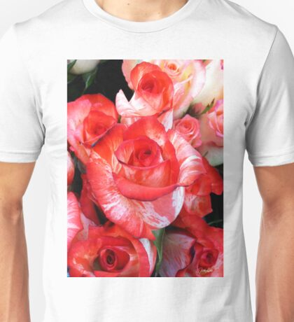 Rose on Fire Unisex T-Shirt