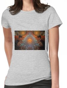 Buddha Blessings Womens Fitted T-Shirt
