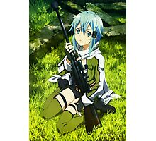 Sword Art Online II : Phantom Bullet - Sinon Poster Photographic Print