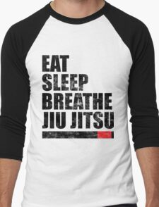 Eat Sleep Breathe Jiu Jitsu Men's Baseball ¾ T-Shirt
