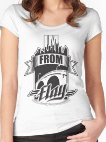 I'm from Elay Women's Fitted Scoop T-Shirt