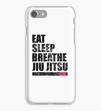 Eat Sleep Breathe Jiu Jitsu iPhone Case/Skin