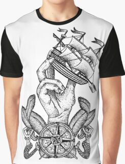 Captain Of The Ship Graphic T-Shirt