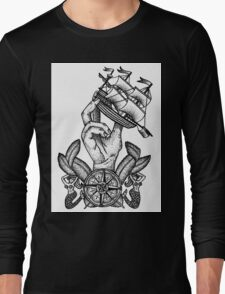 Captain Of The Ship Long Sleeve T-Shirt