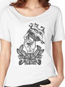 Captain Of The Ship Women's Relaxed Fit T-Shirt