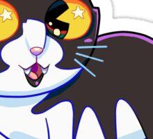 Starry Eyed Meow-Meow Sticker