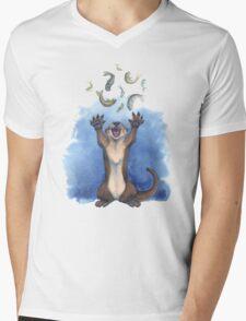 Praise Be to Feesh! Mens V-Neck T-Shirt
