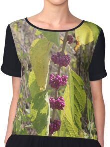 Berries on the Vine Chiffon Top
