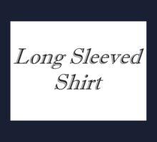 Long Sleeved Shirt (Ironic Fashion) Kids Tee