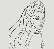 She-Ra Princess of Power (Black Line Art) Unisex T-Shirt