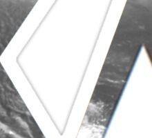 Kappa Delta Grayscale  Sticker