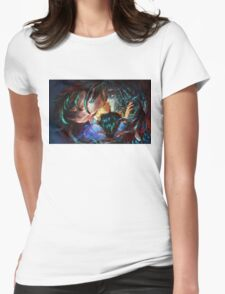 Sophia and Howl - Howl's Moving Castle Womens Fitted T-Shirt
